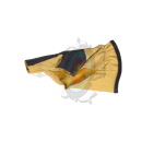Withe Feather Handschuh Protector Fire