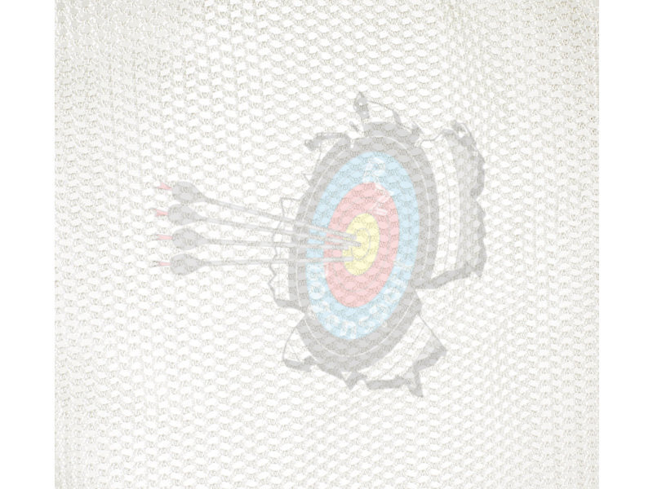 JVD Pfeilfangnetz Extra Strong Weiß
