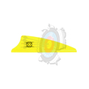 "X-Vane Shield 1.75"" Neon Gelb"