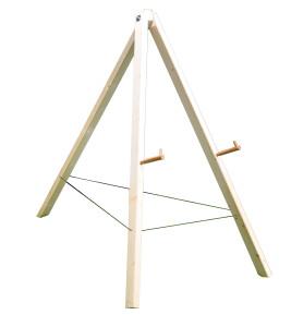 Scheibenständer 115  für 20cm starke Zielscheiben