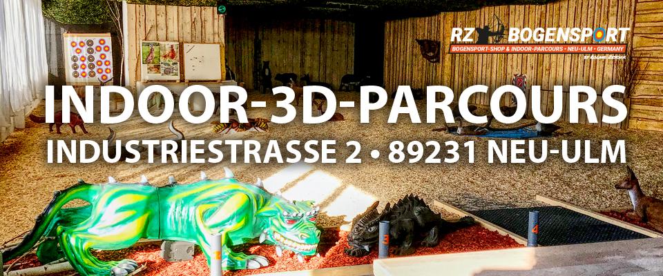 Der ultimative Indoor 3D Parcours in Neu-Ulm